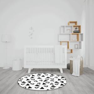 שטיח משולשים חלולים ומלאים